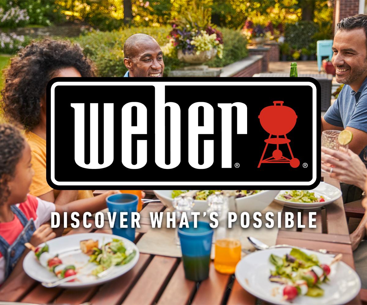 Weber BBQ at Bromsgrove Garden Centre