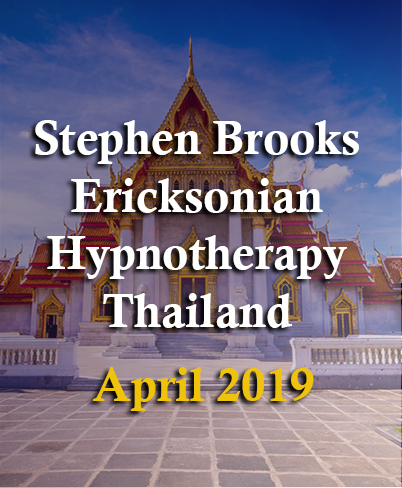 STEPHEN BROOKS & THE ART OF ERICKSONIAN HYPNOTHERAPY