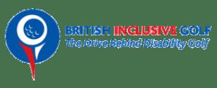 British Inclusive Golf -Logo-side colour