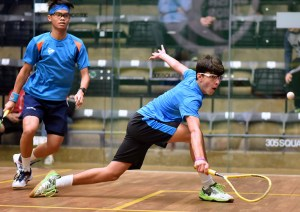 Day one: Young players from 33 different countries begin quests for British title