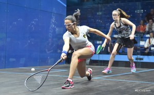 Emphatic Egyptians dominate Dunlop British Junior Open quarters