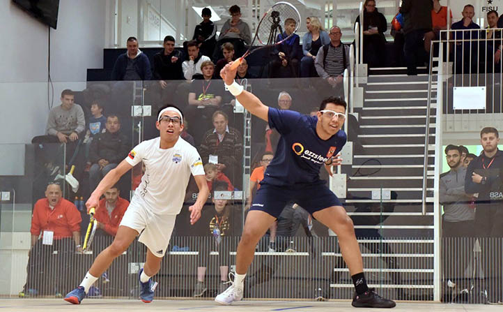 Top seeds storm through on Day One
