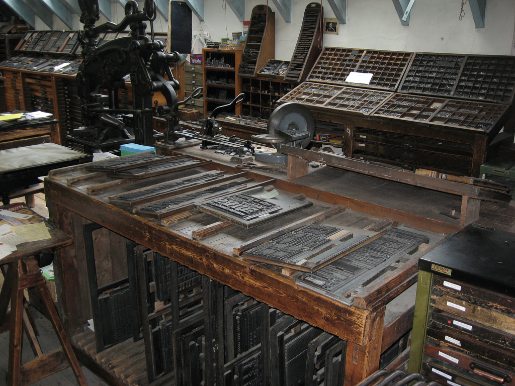 Booking It № 3: Movable Type at Robert Smail's Printing Works – Shady Characters