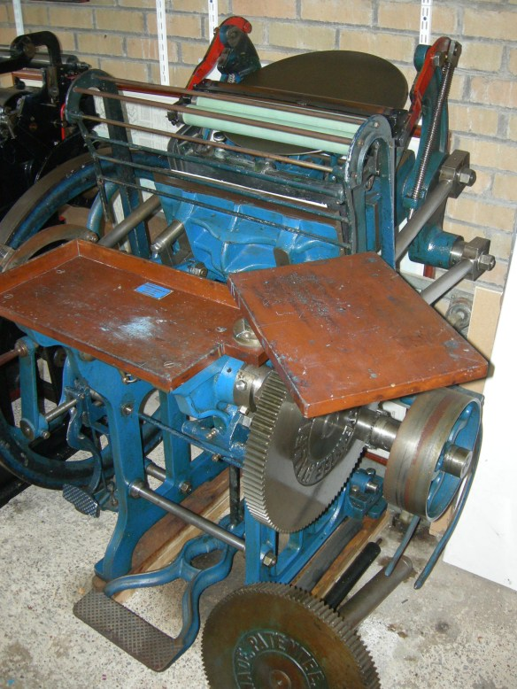"Arab: complete machine with spare ""Arab Wheel"" shown"