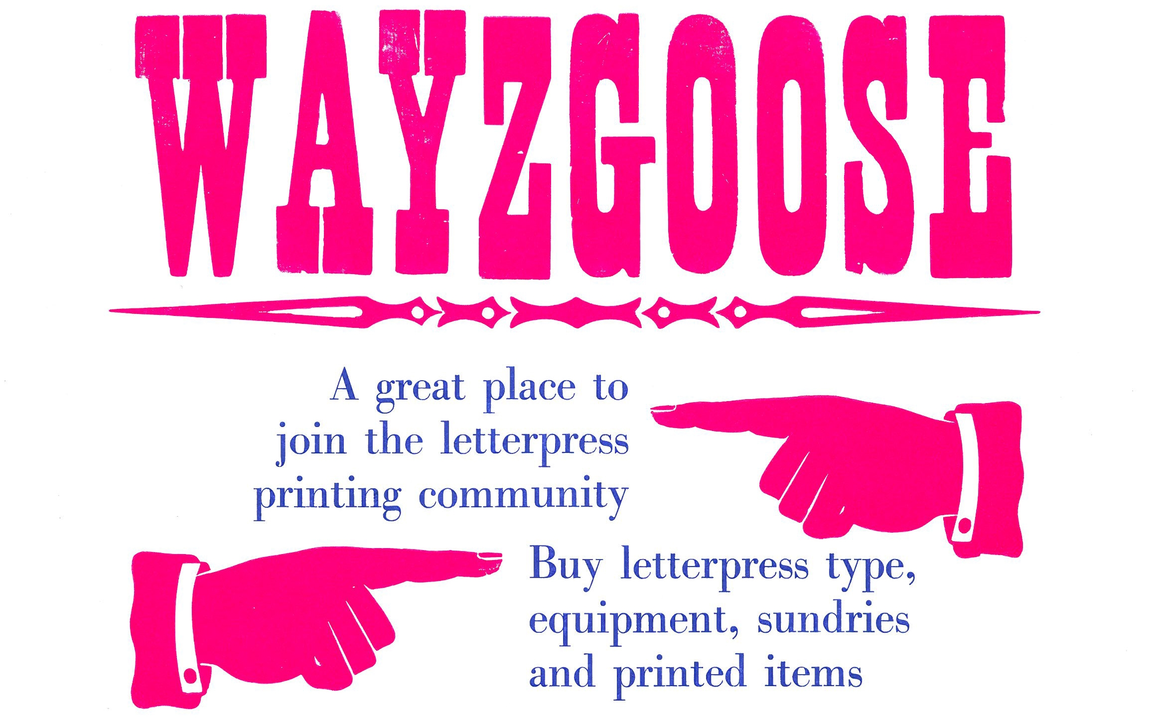 St Bride Foundation: Wayzgoose Sunday 17 May