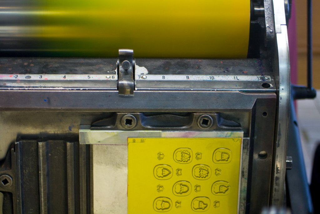 Wired: How letterpress printing came back from the dead