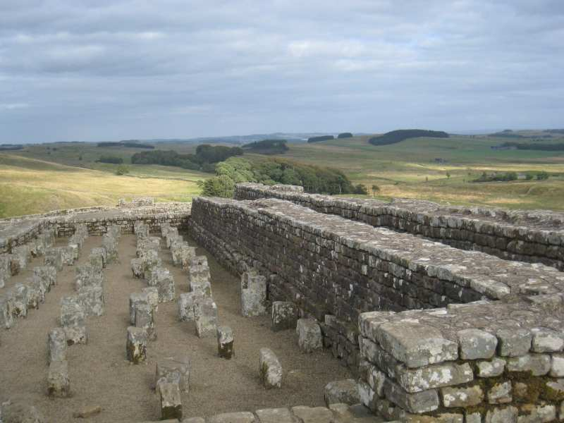 Hadrians wall - Angela Youngman