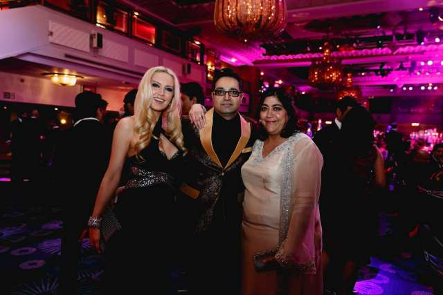 Gurinder Chadha with guests