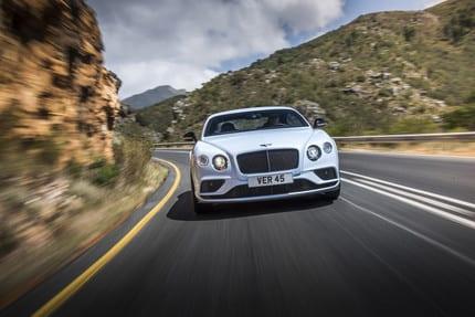 Bentley Continental GT Cabriolet Photo: James Lipman / jameslipman.com