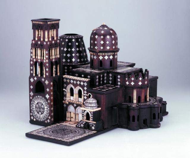 Model, Church of Holy Sepulchre in Jerusalem