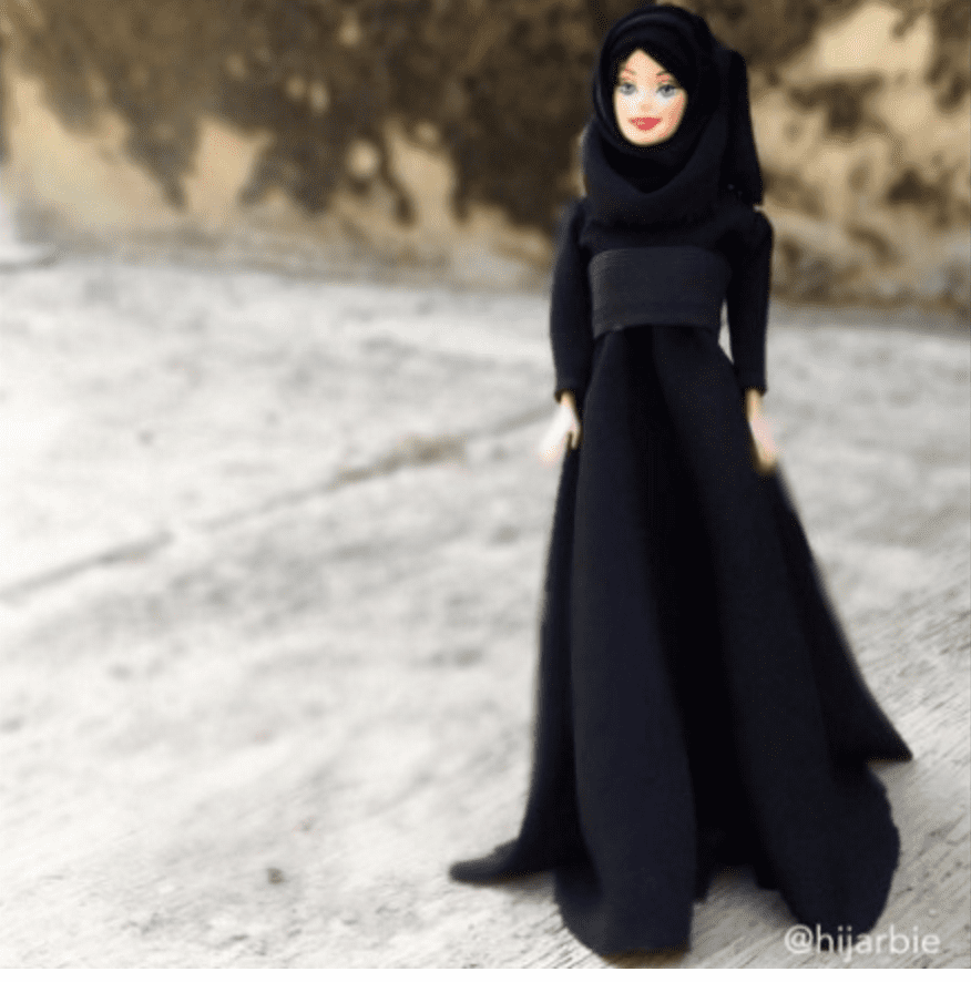 Olympic athlete to compete in a hijab, who said she would sew. The Hijab Wearing Barbie An Instagram Sensation British Muslim Magazine