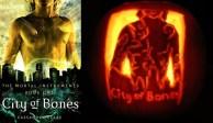 City of Bones Pumpkin by Sarah at BritishNephilim.com