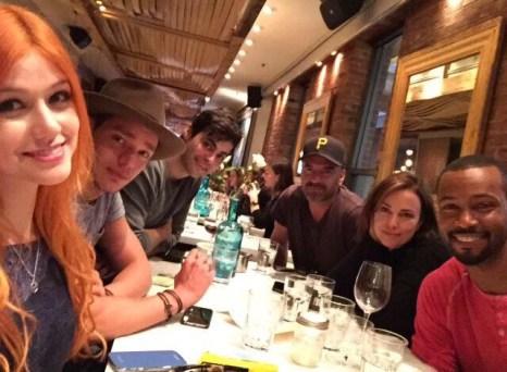 Clary, Jace, Alec, Vantine, Jocelyn, Luke