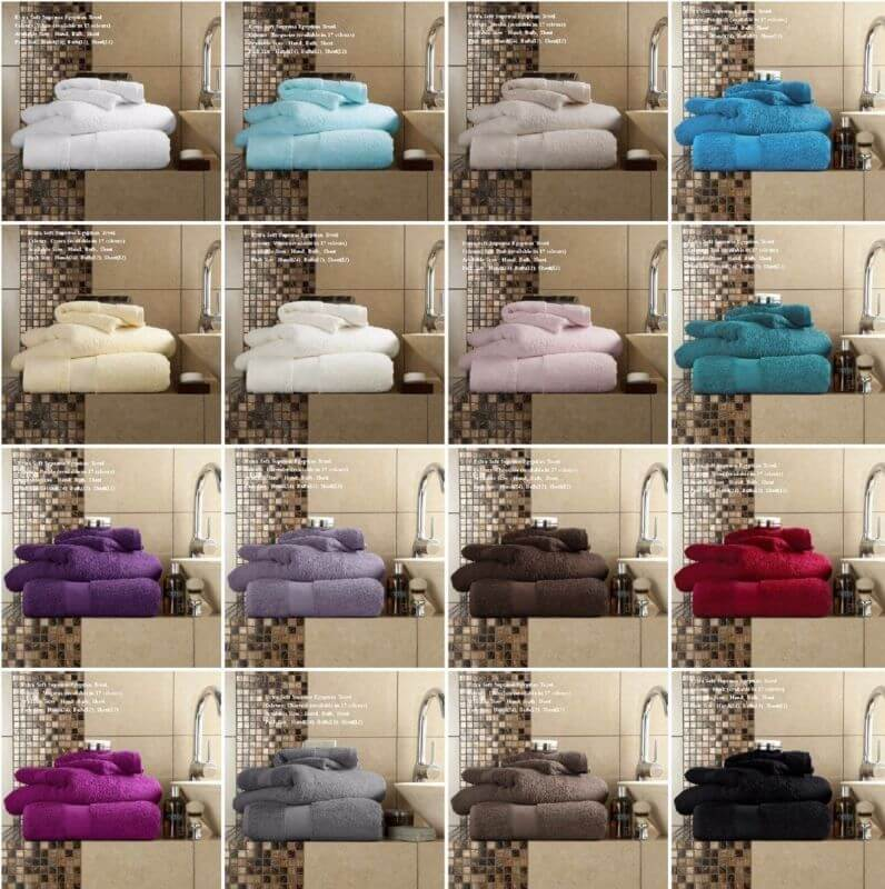 Miami Luxurious 600 GSM Towels