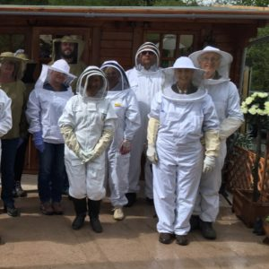 beekeeping students