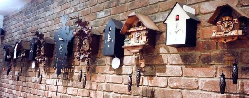 Beautifully modern cuckoo clocks
