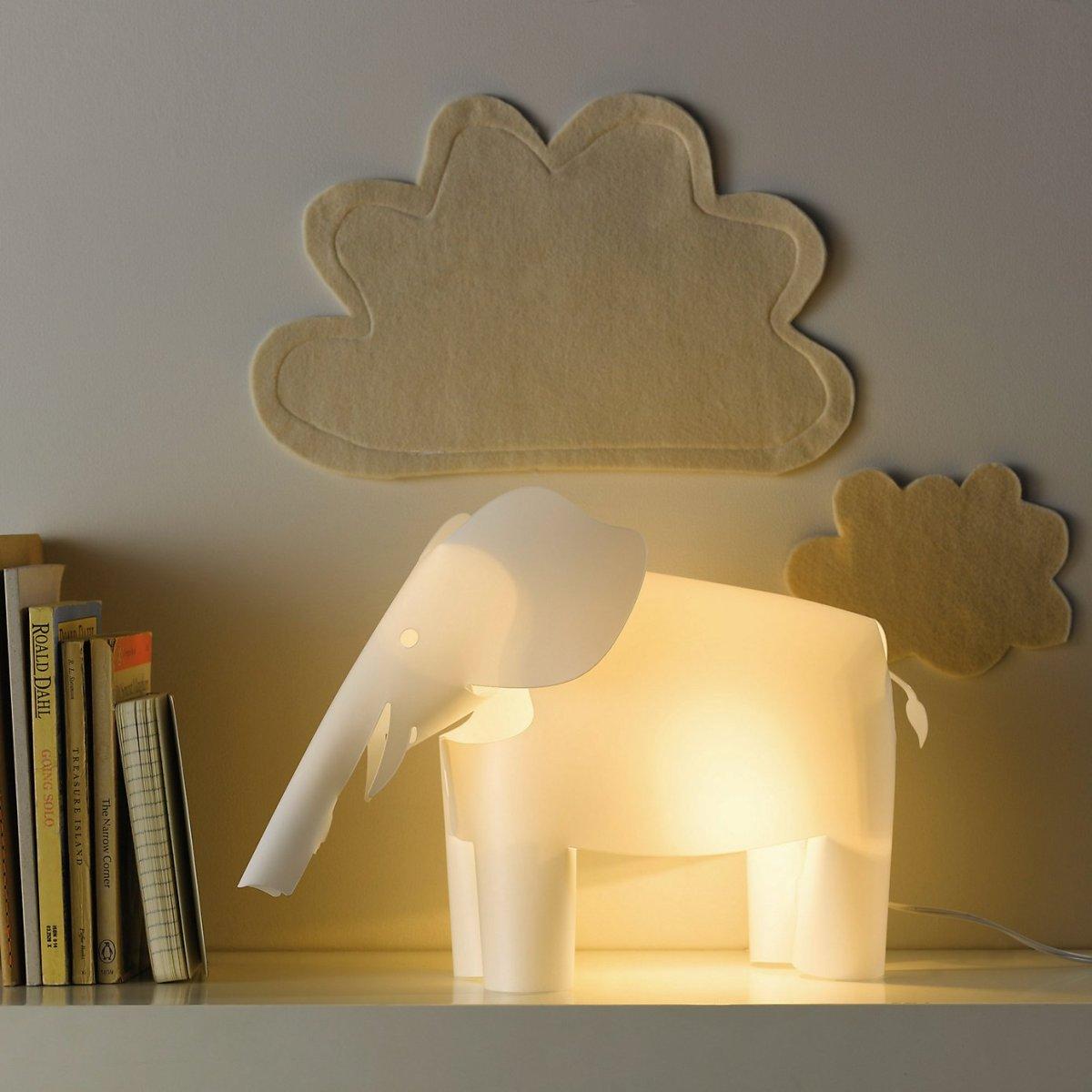 Nursery lighting and night light ideas