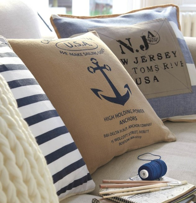 Marine inspired living room
