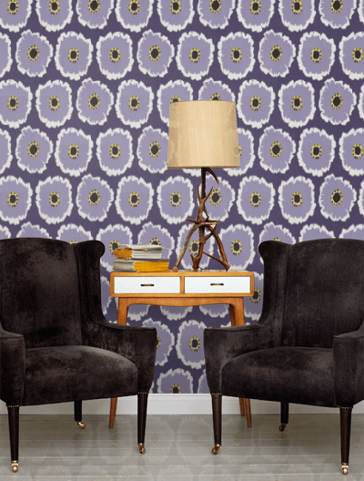 Papavera by Sanderson from wallpaperdirect