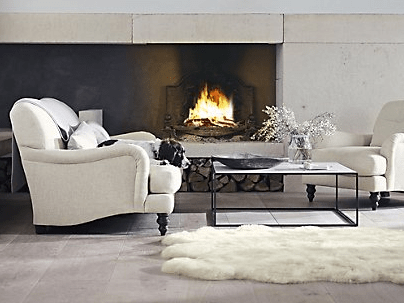 Sheepskin rug by The White Company