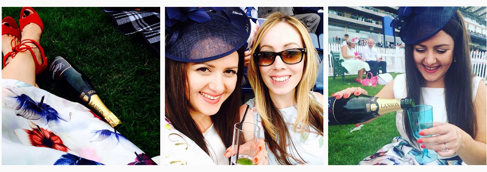 My hen party at Ascot Races