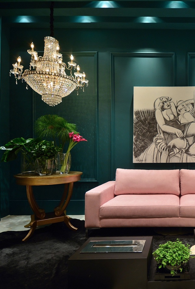 5 ways to rock a green and pink interior colour scheme