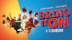 La comédie musicale Bring It On à Londres fin 2021.