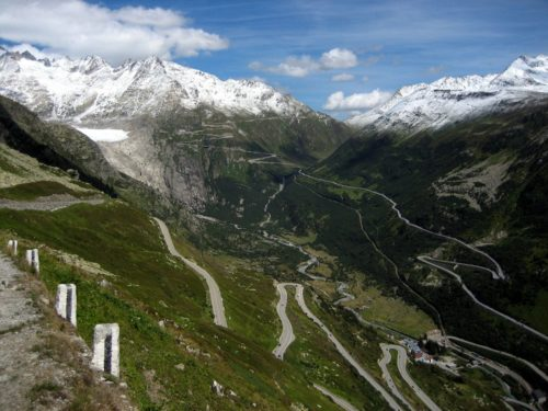 The Furka Pass