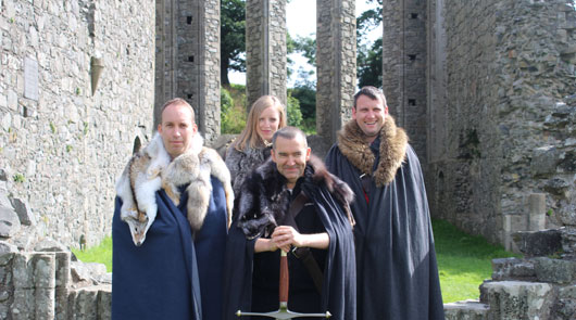 Game of Thrones Winterfell Tour from Belfast with Direwolves