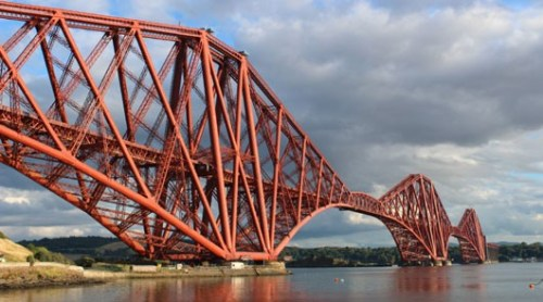 Forth Rail Bridge - Outlander Tour