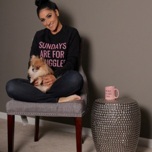 sundays are for snuggles crewneck sweatshirt