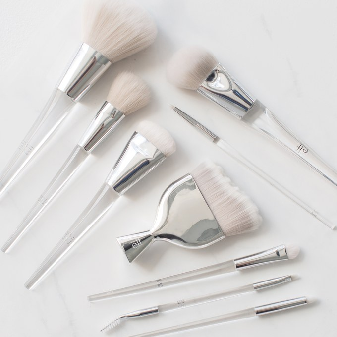elf new makeup brushes