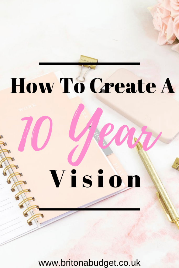 How to create a 10 year vision