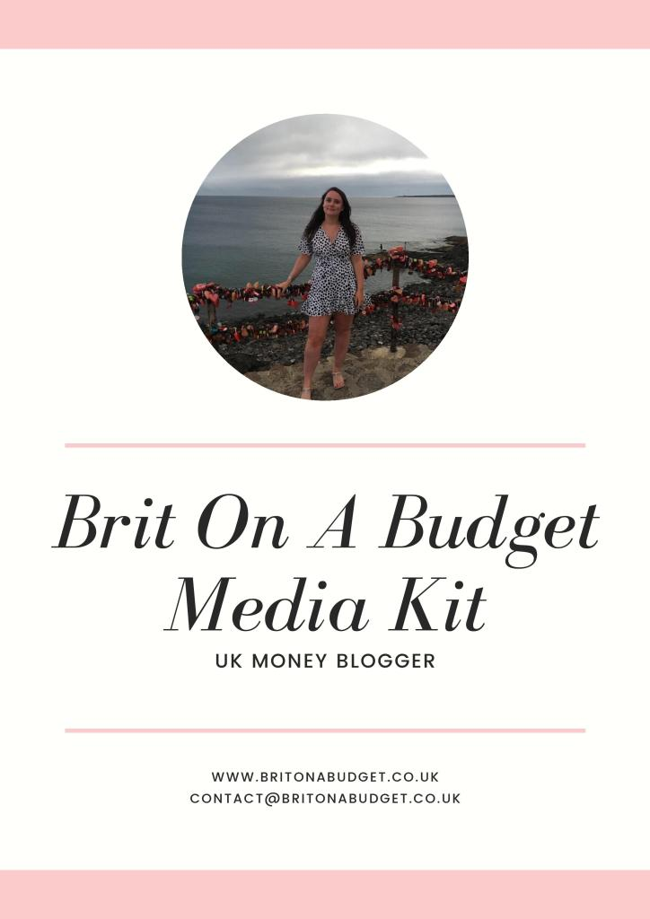 brit on a budget media kit
