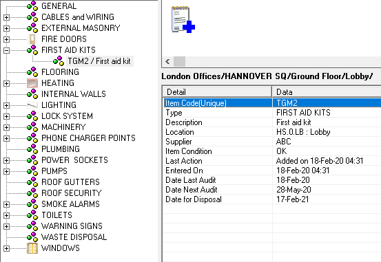locator-h-and-s-items view