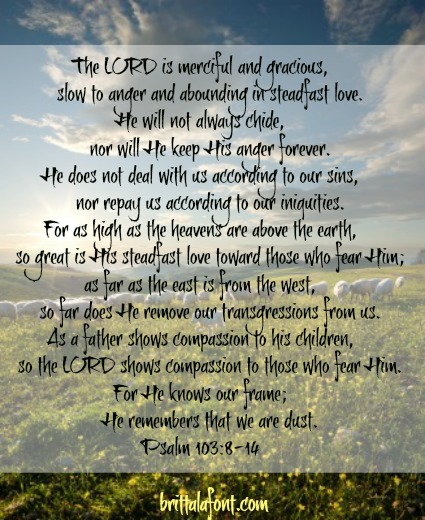 PSALM 130.8-14