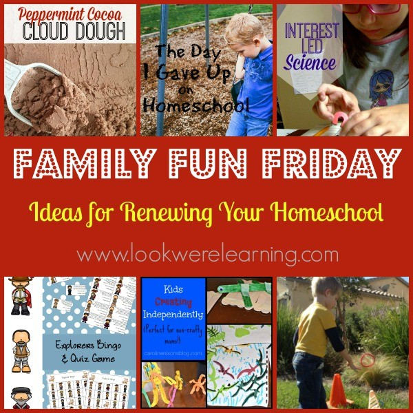 Ideas for Renewing Your Homeschool1.15