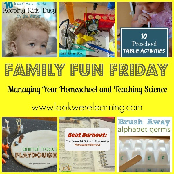 Managing Your Homeschool and Teaching Science
