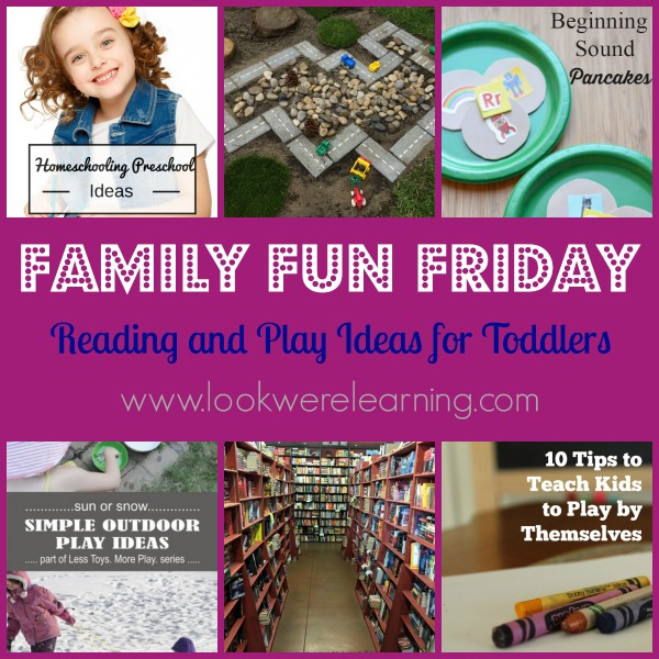 Reading and Play Ideas for Toddlers