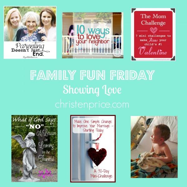 SHOWING LOVE FFF CHRISTEN