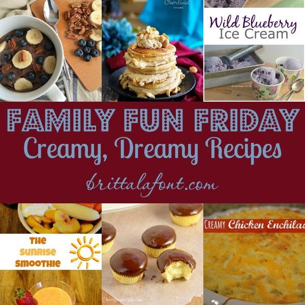 Creamy Dreamy Recipes