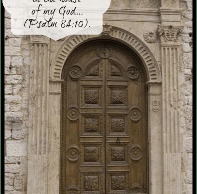 Let's Be Doorkeepers