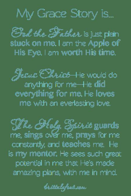 Grace Story, Gospel Good News, Truth, Happy Ending