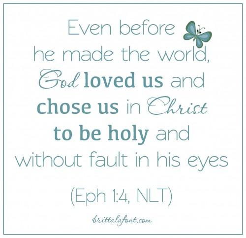 Eph 1.4
