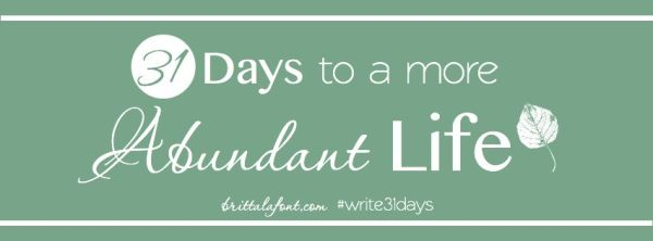 write31days Abundant Life FB header