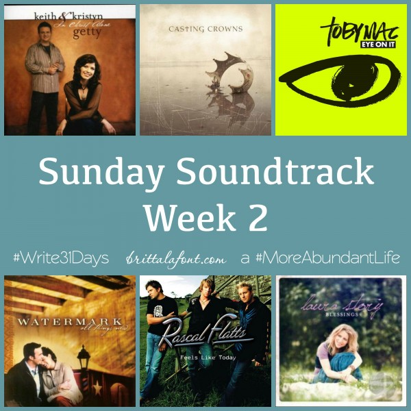 Sunday Soundtrack Week 2