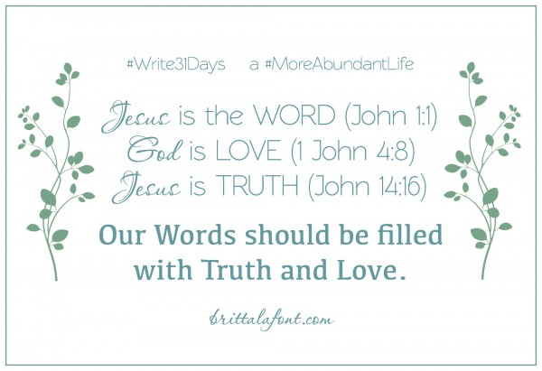 Word-Truth-Love