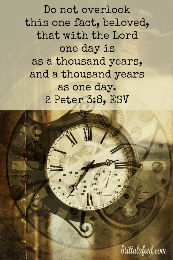 God timing is not like ours. Advent teaches us the importance of waiting...