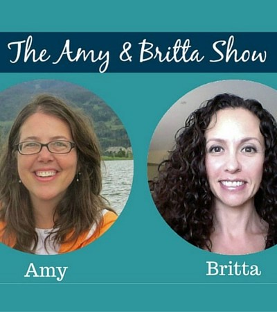 It's The Amy and Britta Show!