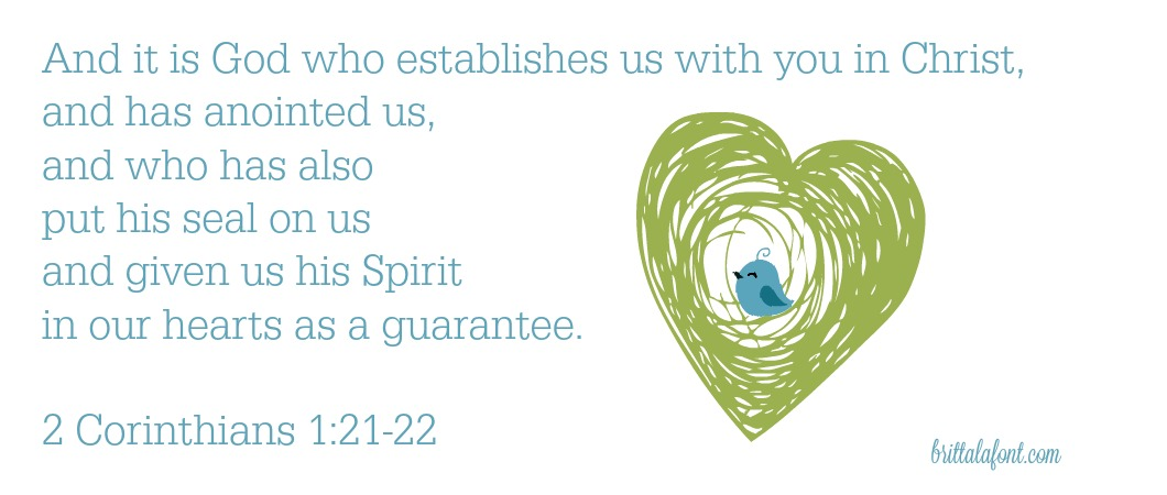 God has placed His spirit within you and given you spiritual gifts